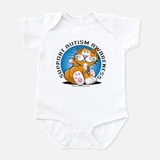 Support Autism Cat Infant Bodysuit