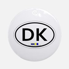Duck NC - Oval Design Ornament (Round)