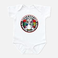 Autism Fighter Cat Infant Bodysuit