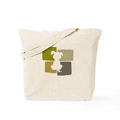 Green Dot Tote Bag