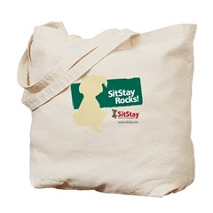 SitStay Rocks II Tote Bag