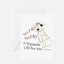 A Tripawds Life Greeting Cards (Pk of 10)