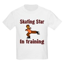 Skating Star in Training Daniel Kids T-Shirt