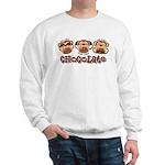 Monkey See Chocolate Sweatshirt