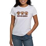 Monkey See Chocolate Women's T-Shirt