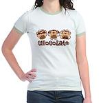 Monkey See Chocolate Jr. Ringer T-Shirt