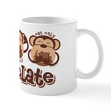 Monkey See Chocolate Mug