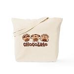 Monkey See Chocolate Tote Bag