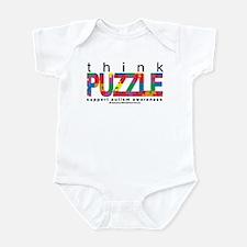 Autism Think Puzzle Infant Bodysuit