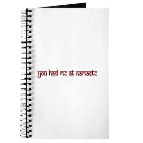 """You Had Me At Namaste"" Journal"