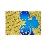 Movies Rectangle Magnet (10 pack)