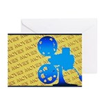 Movies Greeting Cards (Pk of 20)