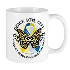 Down Syndrome Tribal Butterfl Mug