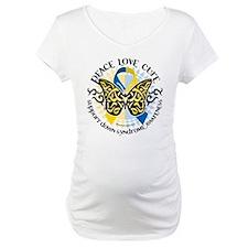 Down Syndrome Tribal Butterfl Shirt