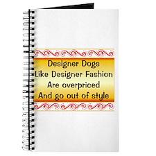 Overpriced Designer Dogs Journal