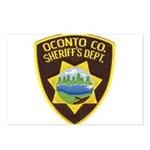 Oconto Sheriff's Dept Postcards (Package of 8)