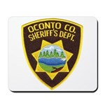 Oconto Sheriff's Dept Mousepad