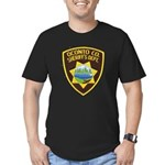 Oconto Sheriff's Dept Men's Fitted T-Shirt (dark)