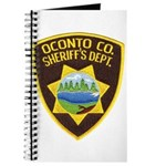 Oconto Sheriff's Dept Journal