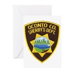 Oconto Sheriff's Dept Greeting Cards (Pk of 20)