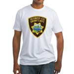 Oconto Sheriff's Dept Fitted T-Shirt
