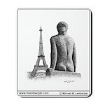 Mousepad, Paris nude, France