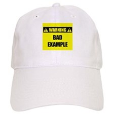 WARNING: Bad Example Baseball Cap