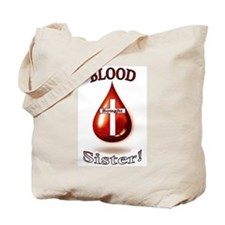 Blood Bought Sister Tote Bag