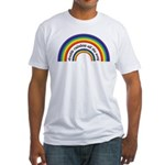 Double Rainbow all the way! Fitted T-Shirt