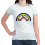 Double Rainbow all the way! Jr. Ringer T-Shirt