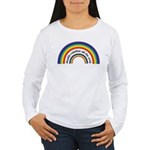 Double Rainbow all the way! Women's Long Sleeve T-