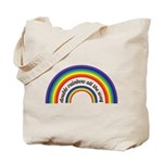 Double Rainbow all the way! Tote Bag