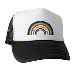 Double Rainbow all the way! Trucker Hat