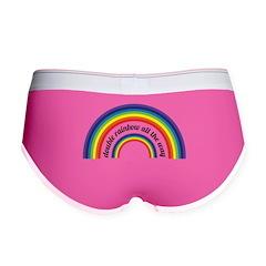 Double Rainbow all the way! Women's Boy Brief