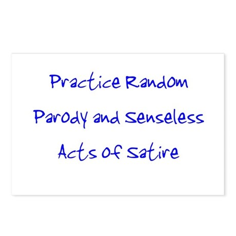 Random Parody/Senseless Satir Postcards (Package o