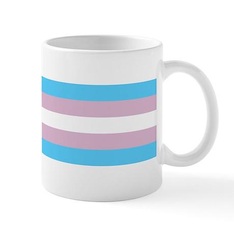Trans Flag Mug