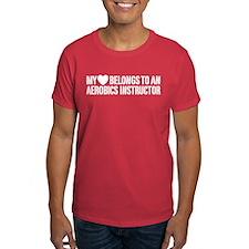 My Heart Aerobics Instructor T-Shirt
