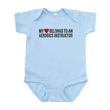 My Heart Aerobics Instructor Infant Bodysuit