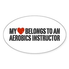 My Heart Aerobics Instructor Decal