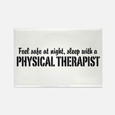 Feel safe with a Physical Therapist Rectangle Magn