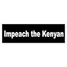 Impeach the Kenyan