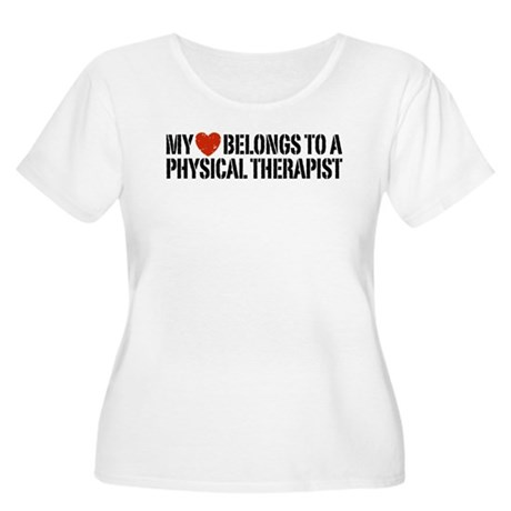 My Heart Physical Therapist Women's Plus Size Scoo