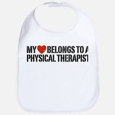My Heart Physical Therapist Bib