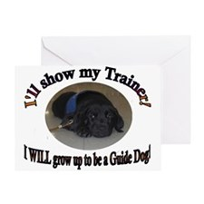 I WILL be a Guide Dog Greeting Card