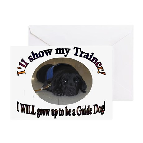 I WILL be a Guide Dog Greeting Cards (Pk of 10)