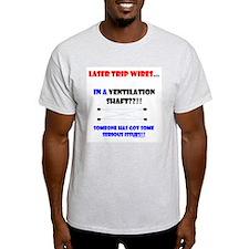 Laser Trip Wires?? 02 T-Shirt