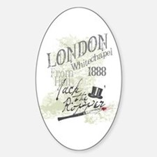 Jack the Ripper London 1888 Decal