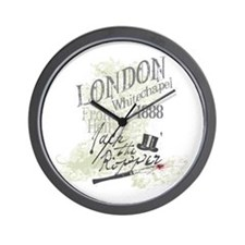 Jack the Ripper London 1888 Wall Clock