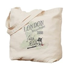 Jack the Ripper London 1888 Tote Bag