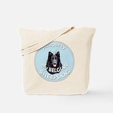 Belgian Sheepdog Property Tote Bag